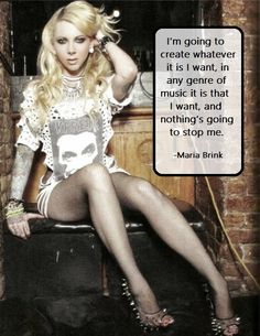 Maria Brink     quote