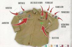 Met het dragen van het uniform toon je dat je scout of gids bent en verwijs je naar de waarden van de beweging. Het uniform geeft leden en leiding de mogelijkheid om hun verbondenheid te tonen en laat