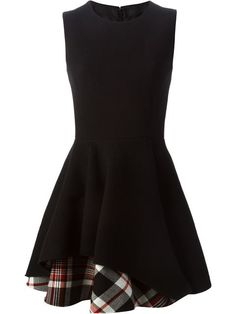 Shop Alexander McQueen tiered tartan panel dress in Luisa Boutique from the world's best independent boutiques at farfetch.com. Shop 300 boutiques at one address.