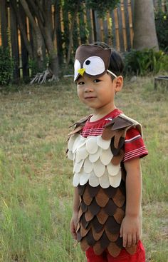 DIY owl Halloween costume | Pinterest | Halloween costumes Owl and Costumes  sc 1 st  Pinterest & DIY owl Halloween costume | Pinterest | Halloween costumes Owl and ...