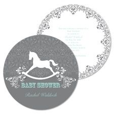 Rocking horse baby shower themed invitation package kiddies rocking horse baby shower themed invitation package kiddies pinterest horse baby showers babies and horse party filmwisefo Gallery