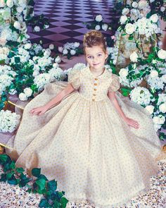 """Sensational #beauty Alexandra, @natayakim 's daughter in Bibiona #couture ✨"""