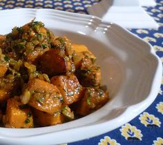 For Love of the Table: Moroccan Sweet Potato Salad with Green Olives
