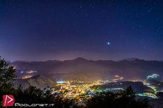 https://flic.kr/p/sxA35t | Borgosesia | Panorama notturno