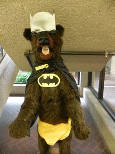 Appleton Public Library in Appleton, WI had over 200 visitors for Batman Day! EVERYONE got into the spirit :)