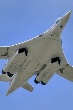 Supersonic strategical bomber-missile carrier Tupolev Tu-160