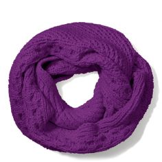 The Legacy Aran Knit Infinity Scarf from Coach