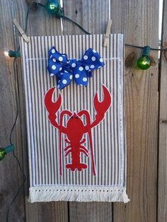 Beach House Flags by ThingsWeLove2014 on Etsy