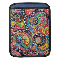 Shop Tribal Abstract iPad Sleeve created by thaneeyamcardle. Gothic Pattern, Colorful Abstract Art, Personalized Birthday Gifts, Ipad Sleeve, Brighten Your Day, Customized Gifts, Custom Gifts, Slipcovers, Cover Design