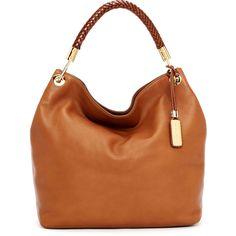 Michael Kors Large Skorpios Textured Leather Shoulder Bag ($995) found on Polyvore,LIKE MICHAEL KORS BAGS