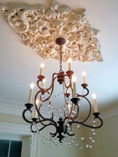 plâtre -plafond decoration