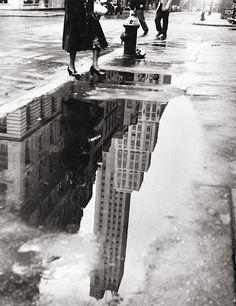 Bedrich Grunzweig - April shower, 1951. Love this.