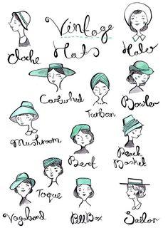 Vintage Hats by Emma Block