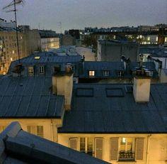 Paris rooftops toits de Paris
