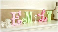 Buchstaben - DIY