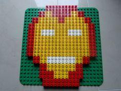 Iron Man aud Lego Duplo Steinen