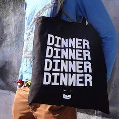 M R. Batman Screen Printed Tote Bag