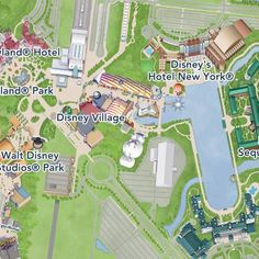 11 Best Maps of places I've been to / plan to go to. images in 2016 Disneyland Paris Hotels Map on