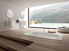 Bathroom designs I wouldnt mind having in my home (22 photos)
