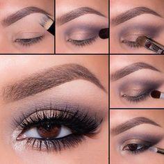 Tutorial de 3 maquillajes que te harán lucir hermosa