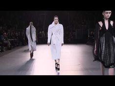 Défilé Mugler, Paris Fashion Week, automne-hiver 2012-2013
