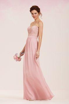 Jasmine Bridal Bridesmaid Dress Jasmine Bridesmaids Style P186060 in Rose