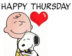 Happy Thursday Charlie Brown And Snoopy