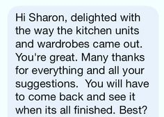 I absolutely LOVE my job... I feel as passionate about making my clients home as comfortable  stylish and  livable  as they do. I want to treat every clients home just as if it were my own.  And when I recieve feedback like this it makes the work so much more enjoyable! #satisfaction #happydays #Limerick #interiors #restyle #fashionable #ontrend #revamp #decor #design