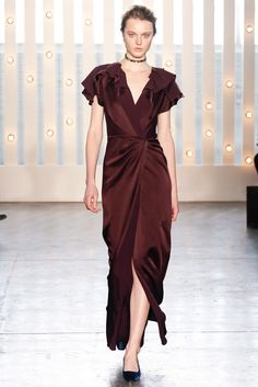 Jenny Packham Fall 2014 Ready-to-Wear Fashion Show Collection