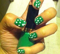 Fotos de uñas color verde – 45 Ejemplos | Green Nails #green #nails  #nailart