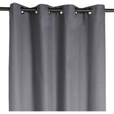 Rideau ROMA INSPIRE 140x240cm, gris galet numero 3, 12,90 euros