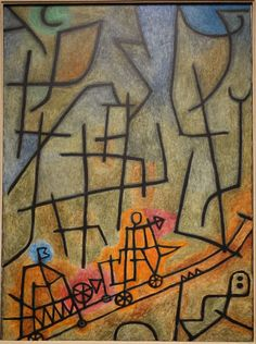 Conquest of the Mountain, Paul Klee