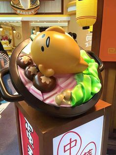 #Gudetama #Sanrio special event in Langham Place, Mong Kok, Hong Kong -- 07/07-09/06/2015 (o^^o)