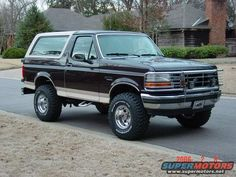 1992 Ford Bronco pictures, photos, videos, and sounds | SuperMotors.net