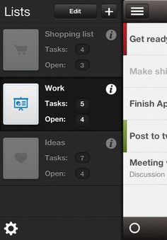 Neat List View #mobile #ui #ux