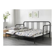 FYRESDAL Pohovka se 2 matracemi - černá/Husvika tvrdá - IKEA