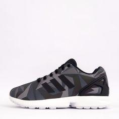 e5c26cb77768 adidas Originals ZX Flux Xeno Men s Reflective Shoes White Black