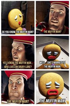 She's married to the Muffin Man... LOL