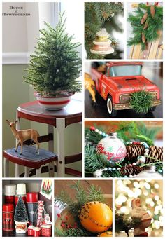 Lots of great holiday inspiration and DIY Christmas decor ideas for your home this season.