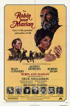 Robin and Marian (1976). Sean Connery, Audrey Hepburn. How have I missed this one?