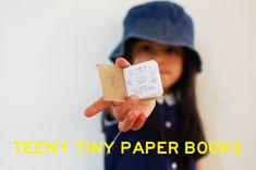 TEENY TINY PAPER BOOKS from Cakies