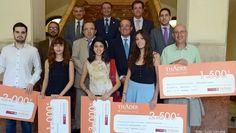 Entrega de premios del concurso de relato corto Thader  http://www.um.es/actualidad/gabinete-prensa.php?accion=vernota&idnota=46111