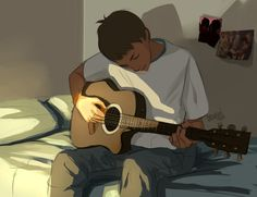 I really love the idea of Lance with a guitar Guitar Drawing, Boy Drawing, Guitar Art, Power Rangers, Character Illustration, Illustration Art, Character Art, Character Design, Lance Mcclain