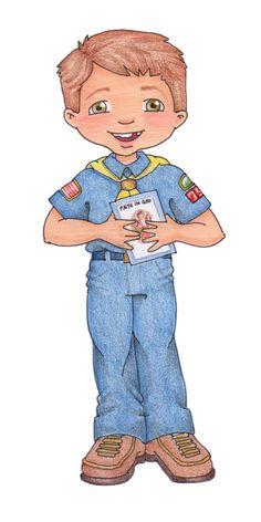 Cub Scout & Achievement Day clip art | susan fitch design