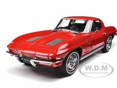 diecastmodelswholesale - 1963 Chevrolet Corvette Sting Ray Split Window Riverside Red 1/18 Diecast Model Car by Autoart, $144.45 (http://www.diecastmodelswholesale.com/1963-chevrolet-corvette-sting-ray-split-window-riverside-red-1-18-diecast-model-car-by-autoart/)
