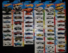 2017-2018 Hot Wheels CREATE YOUR OWN LOT ~ REGULARLY UPDATED ~ PRICE DROP SAVE!