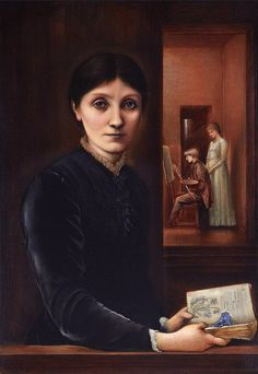 Edward Burne-Jones - Georgiana Burne-Jones, 1883