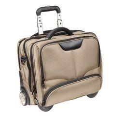 #DERMATA #Notebooktasche #Notebooktrolley #17 #Zoll #Pilotenkoffer #Trolley #[ #Laptop #max. #41 #x 29 cm] mit #Schultergurt /…