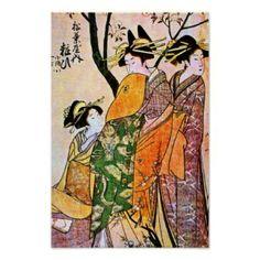 Three Geisha's from www.zazzle.com
