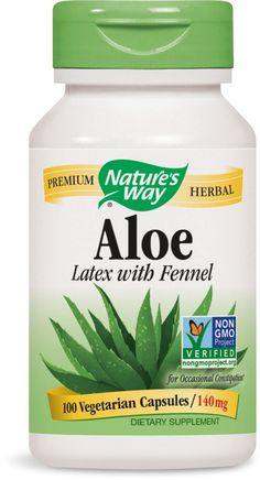 Nature's Way Aloe Vera, 475mg, 100 Vcaps ** Unbelievable  item right here! : Herbal Supplements